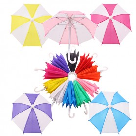 "DOLL UMBRELLA FOR BJD 15"" 18"" AMERICAN GIRL AND OTHER DOLLS"