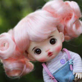 copy of DOLL WIG CURLY BABY BJD STODOLL OB11 AMY DOLL LATI YELLOW PUKIFEE MEADOWDOLLS TWINKLES 5/6