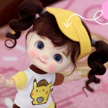 POUPÉE STODOLL DOLL BEBE DIMPLES LILOU ORIGINAL EXCLUSIVE DOLL OB11 CORPS YMY OU DDF TAILLE OB11 & AMYDOLL