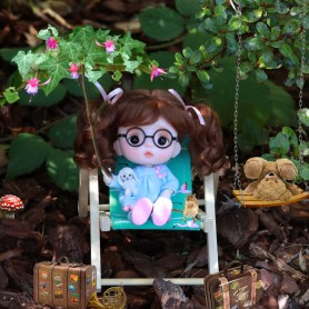BEACH GARDEN DECKCHAIR MINIATURE STODOLL OB11 AMY DOLL LATI WHITE SP PUKIPUKI LATI YELLOW PUKIFEE DOLLHOUSE DIORAMA FURNITURE