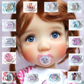 DUMMY PACIFIER FOR BJD MEADOWDOLLS DOLLS MAE ADRYN SAFFI BAILEY BLYTHE GOTZ AMERICAN GIRL REBORN DOLLS