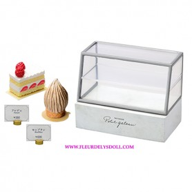 "STAND PRESENTOIR ""PETIT GATEAU"" PATISSERIE FRANCAISE REMENT RE-MENT MINIATURE"