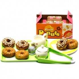 DONUTS TO GO 2006 MEGAHOUSE PUCHI PETITE RE-MENT REMENT MINIATURE BARBIE BLYTHE PULLIP DIORAMAS DOLLHOUSE