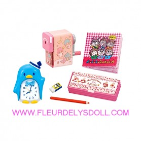 ACCESSOIRES BUREAU HELLO KITTY REMENT RE-MENT KAWAII MINIATURE STODOLL OB11 LATI YELLOW PUKIFEE MIDDIE BLYTHE PULLIP BARBIE