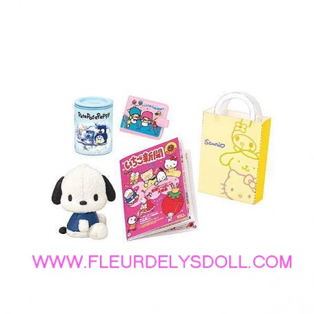 DESK SET SANRIO SHOP HELLO KITTY MINIATURE REMENT RE-MENT DOLL STODOLL OB11 AMYDOLL MIDDIE BLYTHE BARBIE