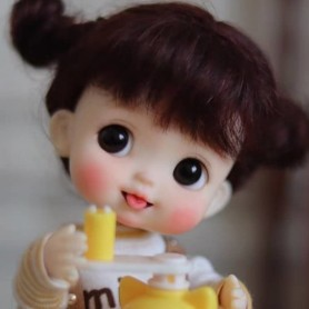 ADORABLE AMYDOLL POTATOES PEACH NATURAL COLOR DOLL LITTLE MURPHY BÉBÉ TAILLE OB11 STODOLL