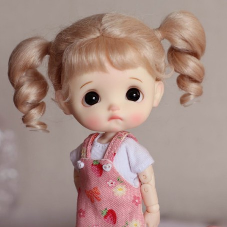 STODOLL BABY DOLL EGGY PRUNELLE ORIGINAL EXCLUSIVE DOLL WITH A YMY OR DDF BODY OB11 AMYDOLL SIZE