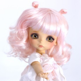 KAWAII DOLL WIG FOR CUSTOM BJD STODOLL OB11 CUSTOM SYBARITE AMYDOLL KKNER LATI YELLOW PUKIFEE DOLL