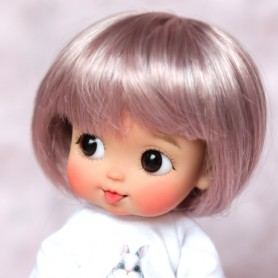 copy of DOLL WIG COLOR KAWAII BOB BJD STODOLL OB11 AMY DOLL LATI YELLOW PUKIFEE MEADOWDOLLS TWINKLES 5/6