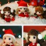 """copy of DDUNG 9 CM (3.5"""") LOVELY DOLL GREAT CHRISTMAS GIFT IN HER CLEAR BIG BALL"""