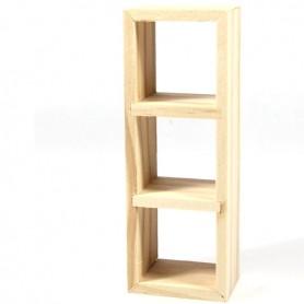 ÉTAGÈRE IKEA BOIS NATUREL MINIATURE BJD BLYTHE PULLIP STODOLL OB11 BARBIE MAISON DE POUPÉES DOLLHOUSE DIORAMA