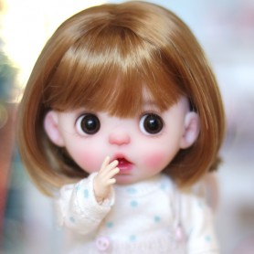 DOLL WIG HONEY LONG BOB BJD STODOLL OB11 KKNER AMY DOLL LATI YELLOW PUKIFEE MEADOWDOLLS TWINKLES 5/6