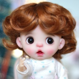 DOLL WIG ANGEL FOX BJD STODOLL OB11 KKNER AMY DOLL LATI YELLOW PUKIFEE MEADOWDOLLS TWINKLES 5/6