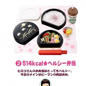 LUNCH BOX RE-MENT REMENT EVERYONE'S LUNCH 2 RARE 2005 MINIATURE FOR DOLL DIORAMA PHICEN BLYTHE PULLIP NENDOROID