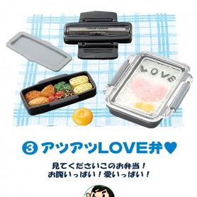 LOVE BENTO RE-MENT REMENT EVERYONE'S LUNCH 3 RARE 2005 MINIATURE FOR DOLL DIORAMA PHICEN BLYTHE PULLIP NENDOROID