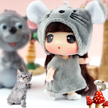 """MINI MOUSE DDUNG COLLECTOR DOLL 9 CM (3.5"""") LOVELY DOLL"""
