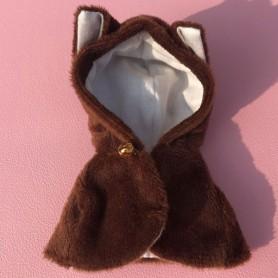 CUTE HOODIE JACKET COAT CAP OUTFIT FOR STODOLL OB11 AMYDOLL BJD LATI WHITE SP OBITSU 11 DOLLS