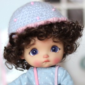 FUNNY HAT FOR BJD DOLL OB11 STODOLL AMY DOLL LATI WHITE SP PUKIPUKI OBITSU 11 MINI DOLLS
