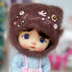 FUN FUN HAT FOR BJD DOLL OB11 STODOLL AMY DOLL LATI WHITE SP PUKIPUKI OBITSU 11 MINI DOLLS