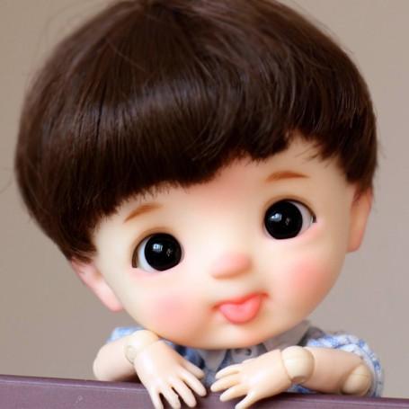 STODOLL BABY DOLL TOMMY ORIGINAL EXCLUSIVE DOLL WITH A YMY OR DDF BODY OB11 AMYDOLL SIZE