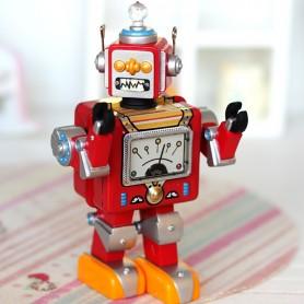 VINTAGE ROBOT DOLL TOY MINIATURE STODOLL OB11 BLYTHE PULLIP LATI YELLOW PUKIFEE AMYDOLL DIORAMA DOLLHOUSE
