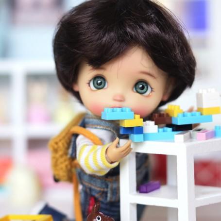 SET OF 25 TINY BLOCKS LEGOS TOYS MINIATURE BJD LATI YELLOW PUKIFEE BARBIE STODOLL OB11 AMYDOLL BLYTHE PULLIP DIORAMA DOLLHOUSE
