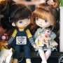 LOVELY AGLAE DOLL 20 CM FULLY ARTICULATED + OUTFITS IN BOX HOLALA DOLL SIZE