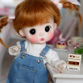 ADORABLE AMYDOLL POTATOES DOLL NATURAL COLOR LITTLE ROSE BÉBÉ TAILLE OB11 STODOLL