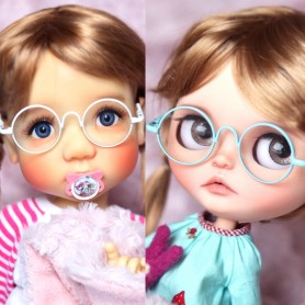BEAUTIFUL COLOR DOLL GLASSES FOR BJD DOLL CUSTOM BLYTHE MEADOWDOLLS SAFFI BAILEY AMERICAN GIRL DOLL