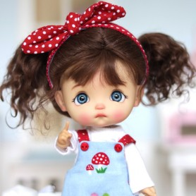 POUPEE STODOLL DOLL BEBE EGGY TAN PRALINE ORIGINAL EXCLUSIVE DOLL OB11 CORPS YMY OU DDF TAILLE OB11 & AMYDOLL