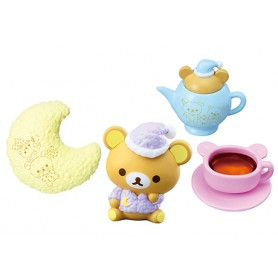 TEA SET ACCESSORIES RILAKKUMA PAJAMA PARTY REMENT RE-MENT MINIATURE DOLL DIORAMA BARBIE BLYTHE PULLIP NENDOROID OB11 STODOLL