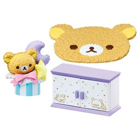 BEDROOM ACCESSORIES RILAKKUMA PAJAMA PARTY REMENT RE-MENT MINIATURE DOLL DIORAMA BARBIE BLYTHE PULLIP NENDOROID OB11 STODOLL
