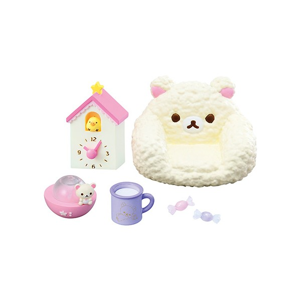 Bedroom Accessories Rilakkuma Pajama Party Rement Re Ment Miniature Doll Diorama Barbie Blythe Pullip Nendoroid Ob11 Stodoll