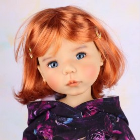 "DOLL WIG MARINA BY MONIQUE 11.12 BJD MEADOWDOLLS SAFFI BAILEY SYLVIA SCARLET 18"" DOLLS ETC..."