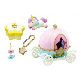 TWINKLE PARTY CARRIAGE & ++ LITTLE TWIN STARS MINIATURE REMENT RE-MENT DOLL STODOLL OB11 AMYDOLL MIDDIE BLYTHE BARBIE