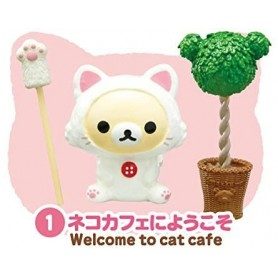 CHAT COLLECTION CAT CAFE MINIATURE REMENT POUPEE STODOLL OB11 LATI YELLOW PUKIFEE MIDDIE BLYTHE PULLIP BARBIE DOLL 2015
