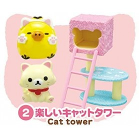 ARBRE A CHAT ROSE CAT CAFE MINIATURE REMENT POUPEE STODOLL OB11 LATI YELLOW PUKIFEE MIDDIE BLYTHE PULLIP BARBIE DOLL 2015