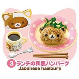 JAPANESE HAMBURGER CAT CAFE MINIATURE ACCESSORIES SET RE-MENT DOLL STODOLL OB11 BARBIE BLYTHE PULLIP DOLL 2015