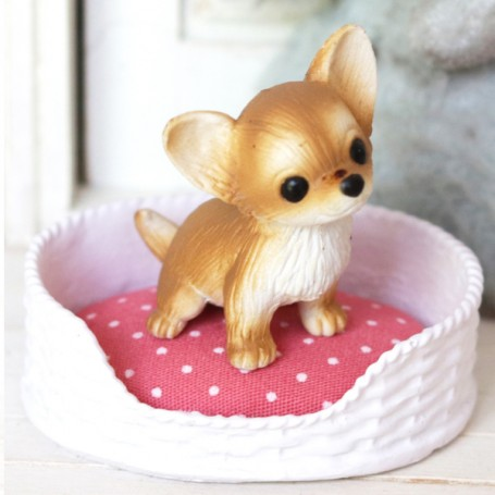 DOG & CAT BED MINIATURE BJD STODOLL OB11 LATI YELLOW PUKIFEE STODOLL OB11 BARBIE FASHION ROYALTY BLYTHE PULLIP DOLLHOUSE DIORAMA
