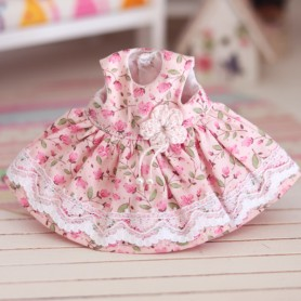 SPRING LACE DRESS OUTFIT FOR BJD DOLL MEADOWDOLLS TWINKLES LATI YELLOW PUKIFEE AND OTHER SMALL DOLLS