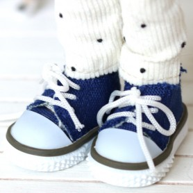TENNIS SHOES FOR BJD DOLL MEADOWDOLLS TWINKLES LATI YELLOW PUKIFEE AND OTHER SMALL DOLLS