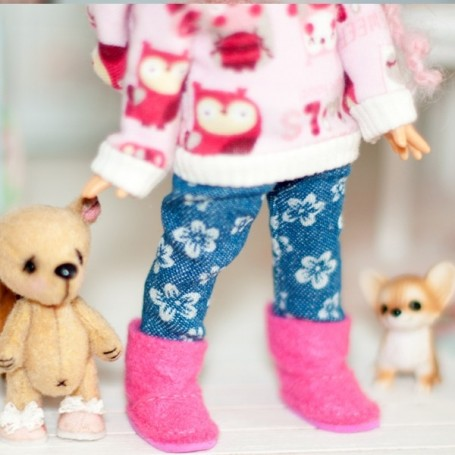 UGG BOOTS FOR BJD DOLL MEADOWDOLLS TWINKLES LATI YELLOW PUKIFEE AND OTHER SMALL DOLLS