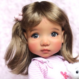BEAUTIFUL AND RARE MAE TAN BJD DOLL MEADOWDOLLS EXCELLENT CONDITION LIKE NEW
