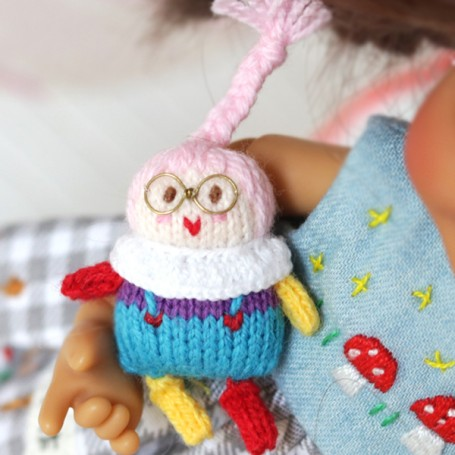 TINY DOLL TOY FOR YOUR DOLLS STODOLL OB11 BYTHE PULLIP MEADOWDOLLS TWINKLES LATI YELLOW PUKIFEE AND OTHER SMALL DOLLS