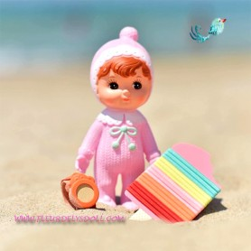 LOVELY CHARMY DOLL VINTAGE AND KAWAII STYLE 20 CM DECORATION KIDS BEDROOM TOY