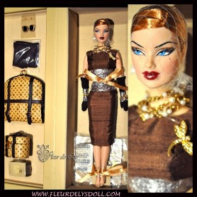 POUPÉE FASHION ROYALTY DOLL VERONIQUE PERRIN FROST TRAVELER BY NATURE COLLECTION VOYAGES 2004 RARE JASON WU INTEGRITY TOYS NRFB