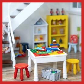 TABLE DE JEUX LEGO ET ++ MINIATURE POUPÉE STODOLL OB11 LATI YELLOW PUKIFEE MEADOWDOLLS DIORAMA DOLLHOUSE