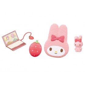 DOLL BEDROOM ACCESSORIES MY MELODY REMENT RE-MENT MINIATURE DOLL DIORAMA BARBIE BLYTHE PULLIP NENDOROID OB11 STODOLL