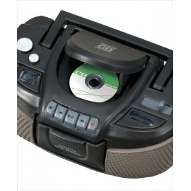 VINTAGE CD RADIO TAPE PLAYER 1980S DOLL MINIATURE BARBIE BJD FASHION ROYALTY BLYTHE PULLIP DOLLHOUSE DIORAMA