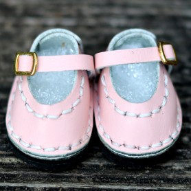 CHAUSSURES MARY JANE ROSE CUIR ROSE POUPÉE BJD DOLL MEADOWDOLLS TWINKLES LATI YELLOW PUKIFEE ...